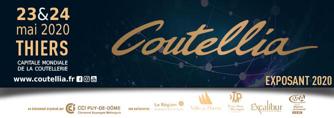 Salon Coutellia fournisseur mokume-gane Thiers en mai 2020