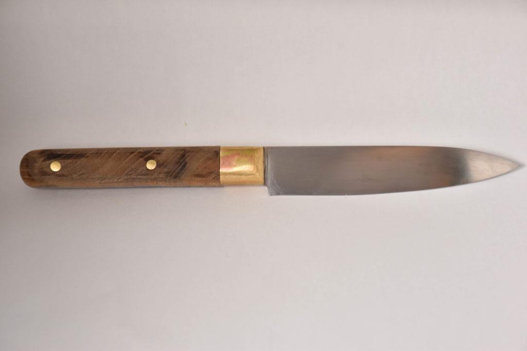 knife Mokume Gane mokumegane couteau de cuisine